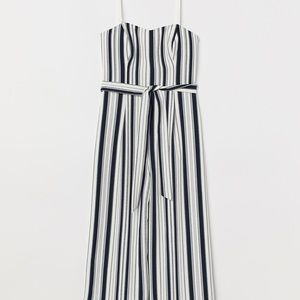 H&M 3/4 length jumpsuit